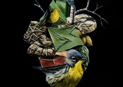 """His Birden: 8""""x10"""" 2010 (Sold)"""