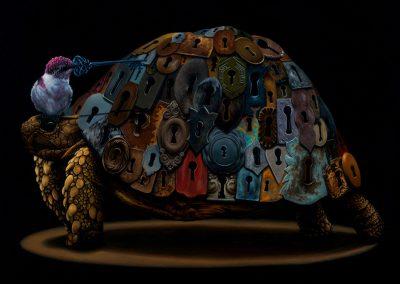 "Pandora: 16""x20"" 2014 (Sold)"