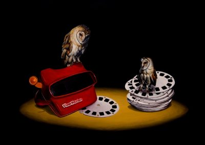 "View Master: 12""x16"" 2010 (Sold)"